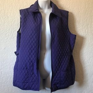 Peck & Peck Purple Vest